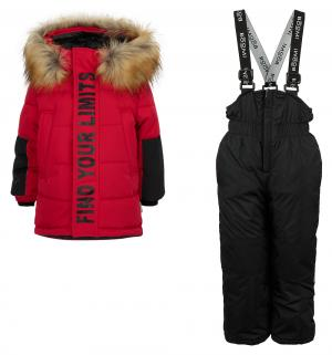 Комплект куртка/полукомбинезон  By Orby, цвет: красный Boom