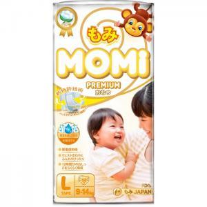 Premium Подгузники L (9-14 кг) 50 шт. Momi