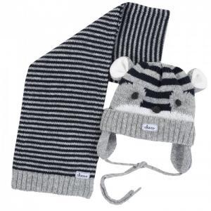 Шапка с шарфом для мальчиков Chicco
