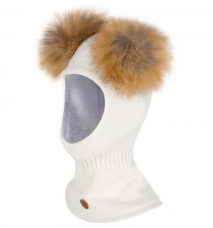 Шапка-шлем  Onerva, цвет: белый Nels