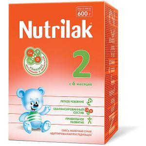 Молочная смесь  2, с 6 мес, 600 г Nutrilak
