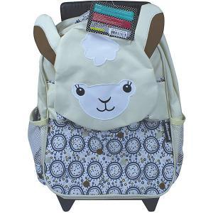 Рюкзак-чемодан Deglingos Muchachos  Lama белый. Цвет: белый