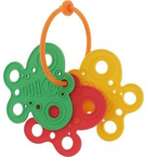 Погремушка-грызунок  Бабочка Пластмастер