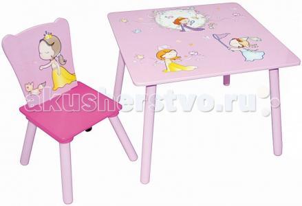 Набор детской мебели стол и стул Uno Sweet Baby