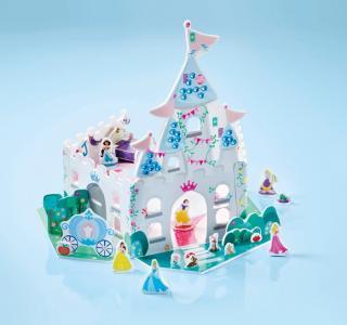 Набор для творчества Дворец принцесс Creativity castle Disney Princess Totum