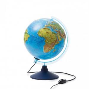 Глобус Физико-политический рельефный с подсветкой 250 мм Globen