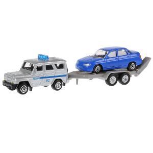 Машина  УАЗ Хантер с Лада 110 Технопарк
