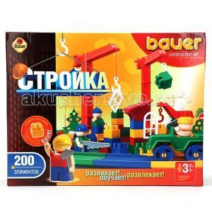 Конструктор Bauer Стройка 200 деталей Кроха