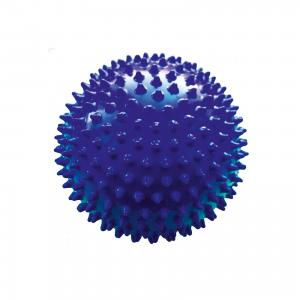 Мяч ёжик синий, 8,5 см, МалышОК