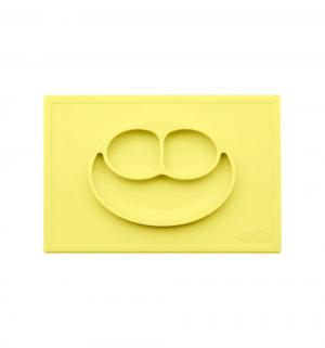 Тарелка  Happy Mat, цвет: лимон Ezpz