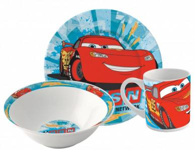 Набор посуды керамической Тачки (3 предмета) Stor