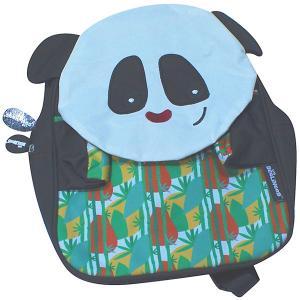 Рюкзак Deglingos Rototos Le Panda черный. Цвет: черный