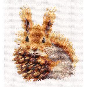 Набор для вышивания  Белочка 11х12 см Алиса