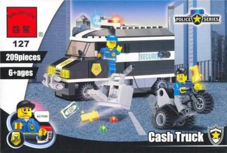 Конструктор  Cash Truck (209 деталей) Enlighten Brick