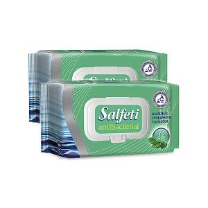 Влажные салфетки  Salfeti antibac № 72 антибактериальные, 4 шт Авангард