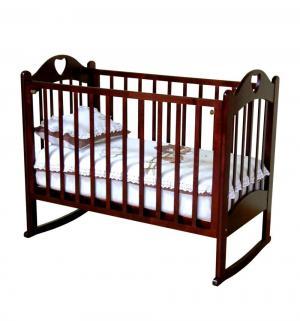 Кровать детская  Любаша, цвет: вишня Можга