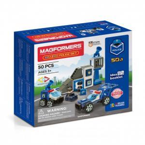 Конструктор  Магнитный Amazing Police Set (50 элементов) Magformers