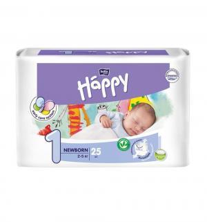 Подгузники  Newborn 1 (2-5 кг) 25 шт. Bella Baby Happy