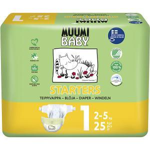 Подгузники  Mini 2-5 кг, 25 штук Muumi