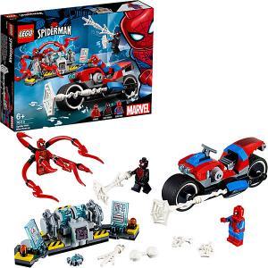 Конструктор  Super Heroes 76113: Спасательная операция на мотоциклах LEGO