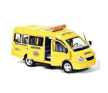 Автопарк инерционная машина Газель 3221 такси 23 см Play Smart