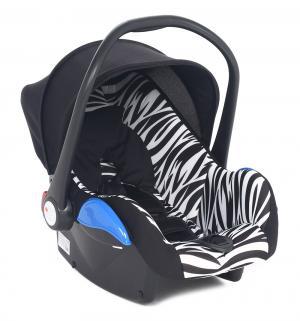 Автокресло  Roomer II, цвет: черный/принт зебра Leader Kids