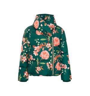 Куртка , цвет: зеленый Смена