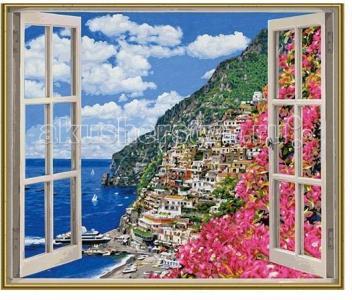 Картина по номерам Позитиано на Амальфийском побережье 50х60 см Schipper