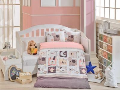 Комплект в кроватку  Sweet Home 100х150 см (10 предметов) Hobby Collection