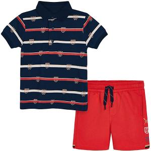 Комплект : футболка и шорты Mayoral. Цвет: розовый