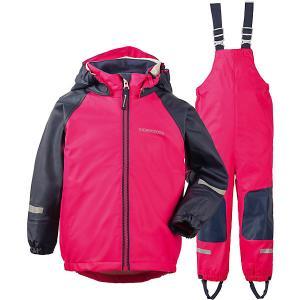 Комплект Didriksons Stormman: куртка и полукомбинезон DIDRIKSONS1913. Цвет: розовый