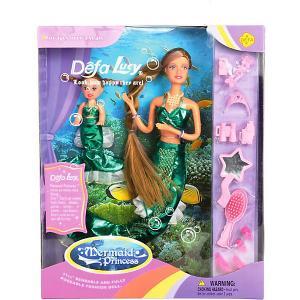 Набор кукол  Морские царевны Defa Lucy. Цвет: разноцветный