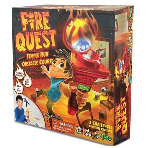 Настольная игра  Огневой квест Yulu. Цвет: разноцветный