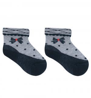 Носки , цвет: серый/синий Rusocks