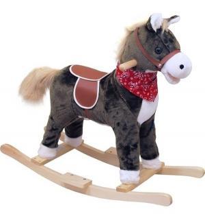 Качалка-лошадка  Oscar, цвет: коричневый/светлая грива Baby Mix