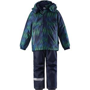 Комплект  : куртка и полукомбинезон Lassie. Цвет: синий