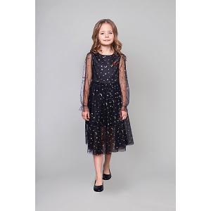 Нарядное платье Choupette. Цвет: черный