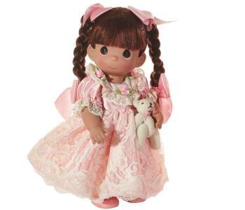 Кукла Перчинка брюнетка 30 см Precious