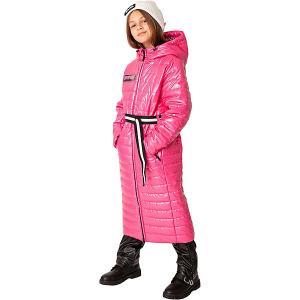 Демисезонная куртка Gulliver. Цвет: розовый