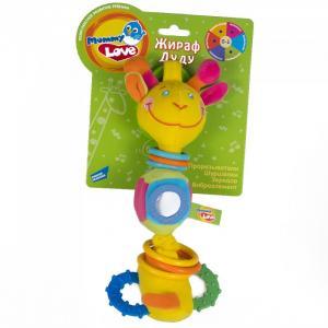 Развивающая игрушка  Жираф Дуду Mommy love