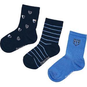 Носки , 3 шт. Mayoral. Цвет: голубой