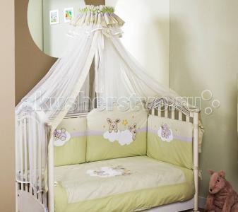 Комплект в кроватку  Rabbit Sestetto Long (6 предметов) Feretti