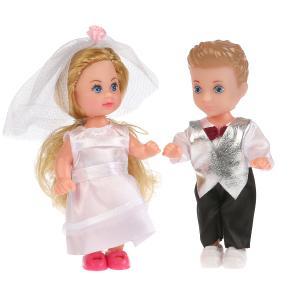, Набор из 2-х кукол Машенька и Сашенька (жених невеста) Карапуз