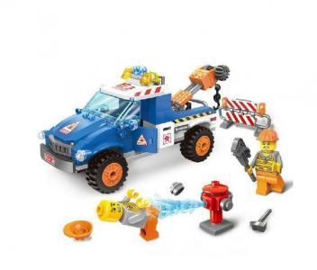 Машина с краном (210 деталей) Enlighten Brick