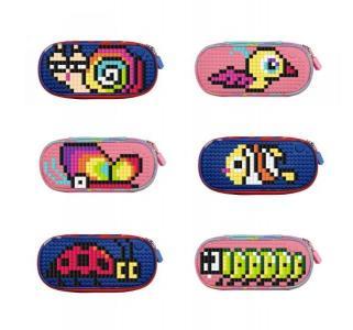 Набор пикселей  собери любую из 6 картинок T-S01 480шт. Upixel