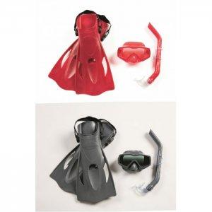 Набор для ныряния Меридиан (маска, трубка, ласты) от 14 лет Bestway