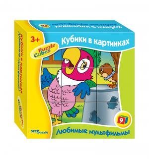 Кубики  Любимые мультфильмы-3 Step Puzzle