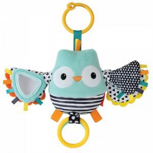 Подвесная игрушка  Сова с хлопающими крыльями Infantino