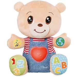 Говорящий мишка Chicco Teddy Emotion. Цвет: разноцветный