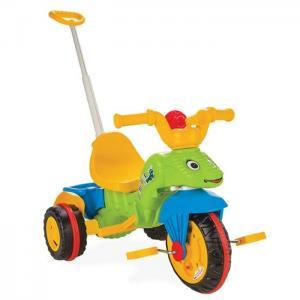 Трехколесный велосипед  Caterpillar с контролем, цвет: зеленый Pilsan